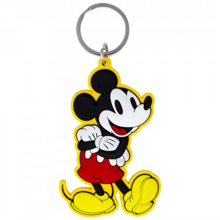 Mickey Mouse Arms Folded Laser Cut Keychain