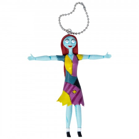 Nightmare Before Xmas Bendable Sally Arms Out Keychain