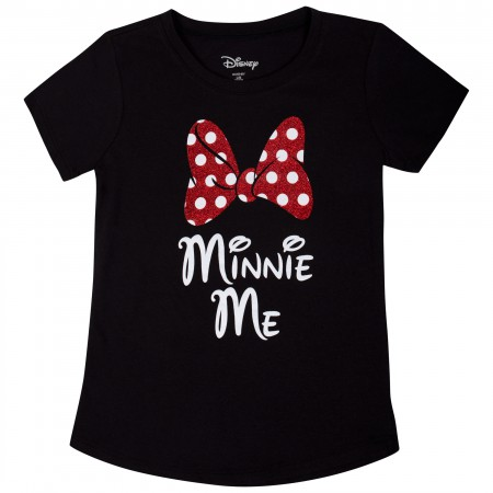 Minnie Mouse Youth Black Minnie Me T-Shirt