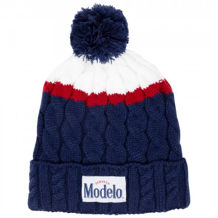 Modelo Navy Blue Winter Beanie