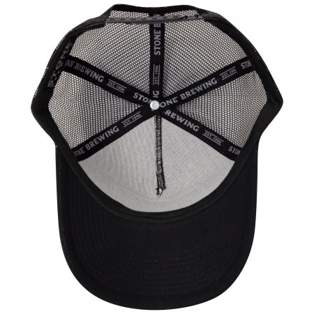 Stone Brewing Co. Black America Adjustable Mesh Trucker Snapback Hat