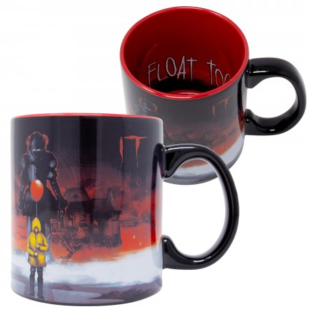 IT Scary Clown 20 Oz Coffee Mug