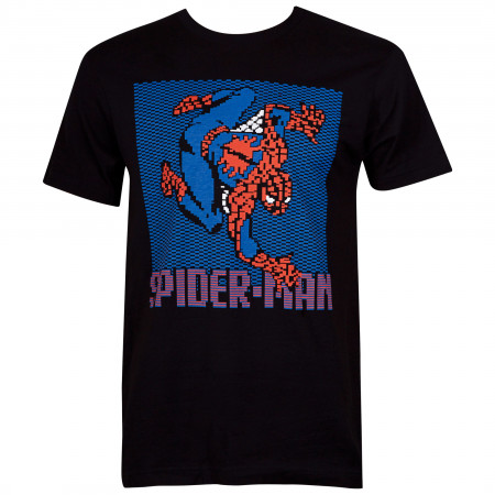 Spider-Man 8-Bit Wall Crawler Men's T-Shirt