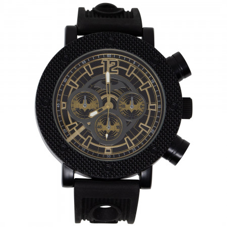 Batman Symbols Black Analog Watch