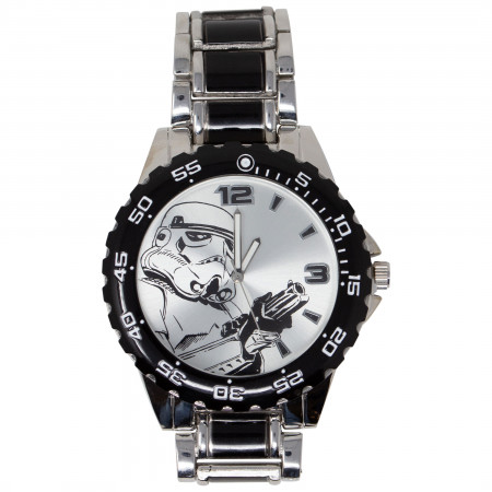 Star Wars Silver Stormtrooper Watch