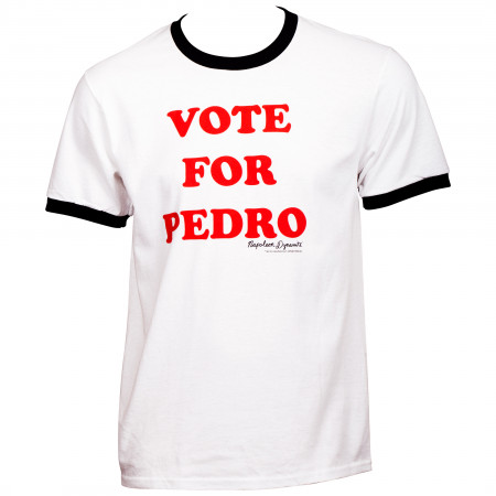Napoleon Dynamite Vote For Pedro Ringer T-Shirt