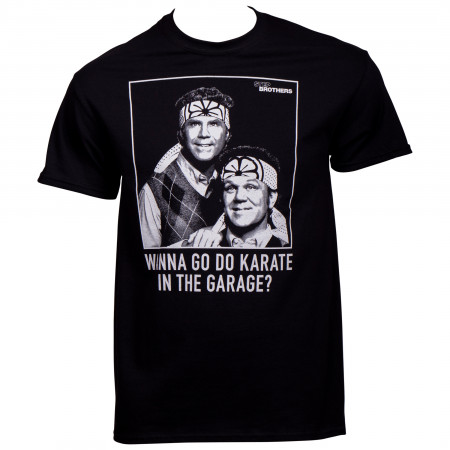 Step Brothers Do Karate In The Garage T-Shirt