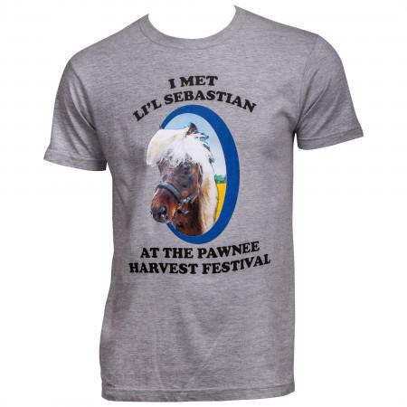 Parks and Recreation I Met Li'l Sebastian T-Shirt
