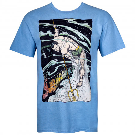 Namor the Sub-Mariner by Bill Everett Image Men's Blue T-Shirt
