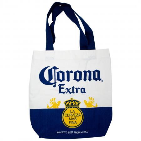 Corona Extra Bottle Label Tote Bag