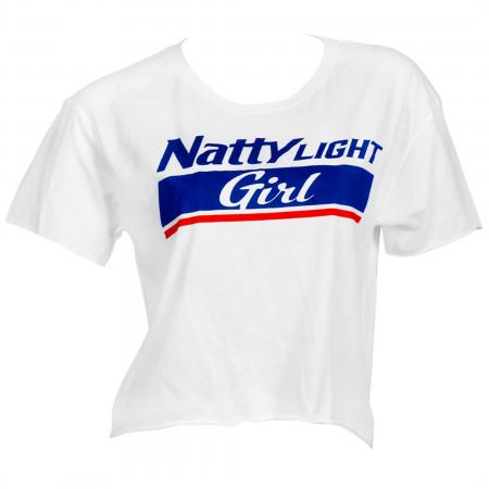 Natural Light Girl Women's Crop Top T-Shirt