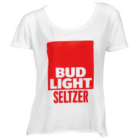 Bud Light Seltzer Women's Crop Top T-Shirt