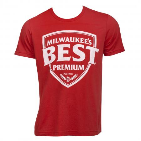 Milwaukee's Best Premium Logo Garment Washed T-Shirt