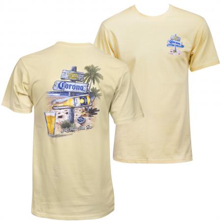 Corona Extra Afternoon Post T-Shirt