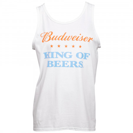 Budweiser King Of Beers Off-White Tank Top