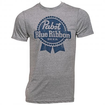 Pabst Blue Ribbon PBR Blue Logo T-Shirt