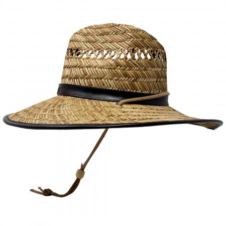 Batman Straw Lifeguard Hat