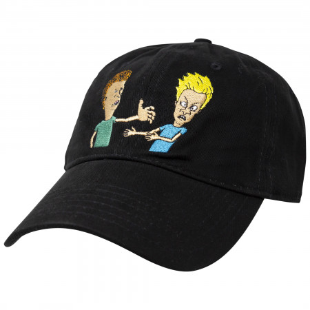 Beavis And Butthead Black Strapback Hat