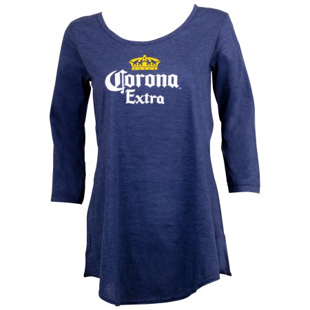 Corona Classic Logo Long Sleeve Women's Shirt