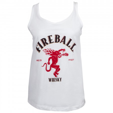 Fireball Logo Women's Racerback Tank Top