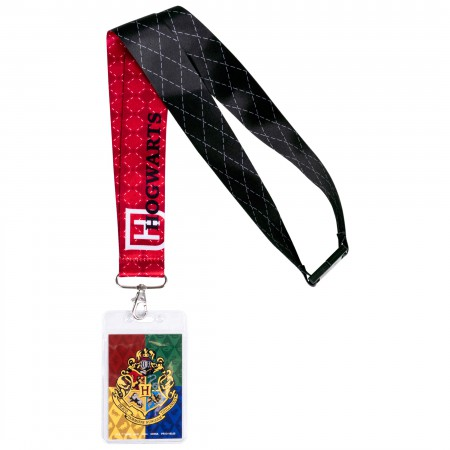Harry Potter Red Hogwarts Lanyard