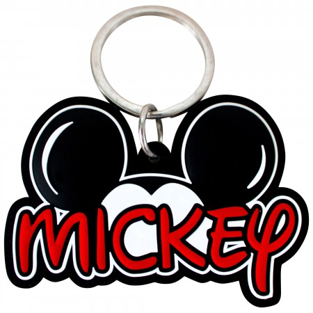 Mickey Mouse Ears Laser Cut Keychain