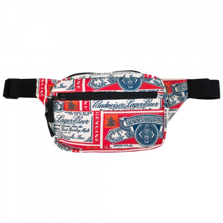 Budweiser Beer Labels Fanny Pack