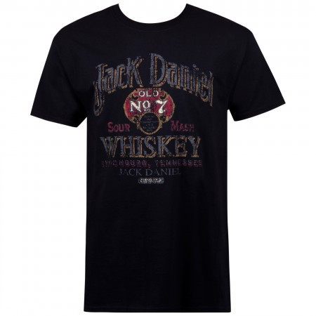 Jack Daniels Sour Mash Vintage  Poster Tshirt