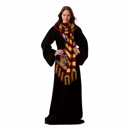 Harry Potter Gryffindor Winter Blanket Snuggie