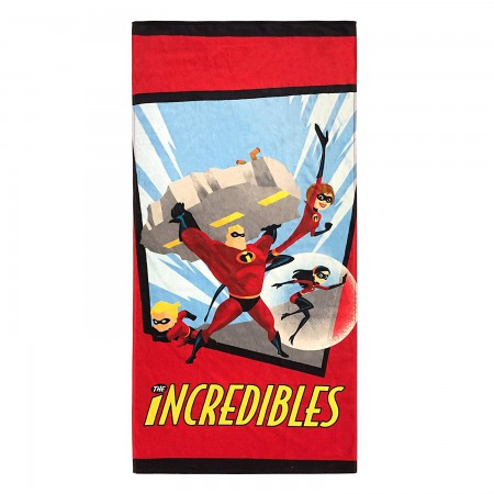 The Incredibles Beach Towel