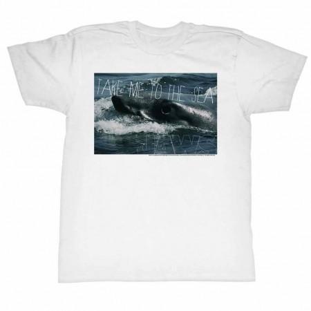Jaws Sea Legs White TShirt