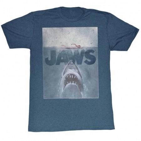 Jaws Transparent Blue TShirt