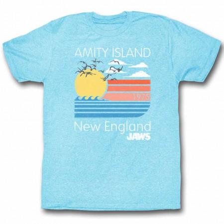 Jaws Pastels Blue TShirt