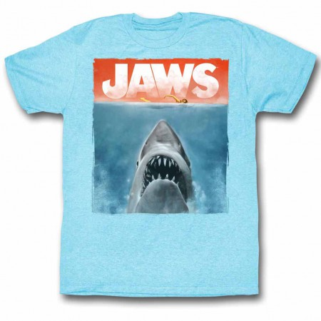 Jaws Colors Blue TShirt