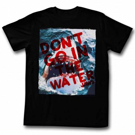 Jaws Don'T Go Black TShirt