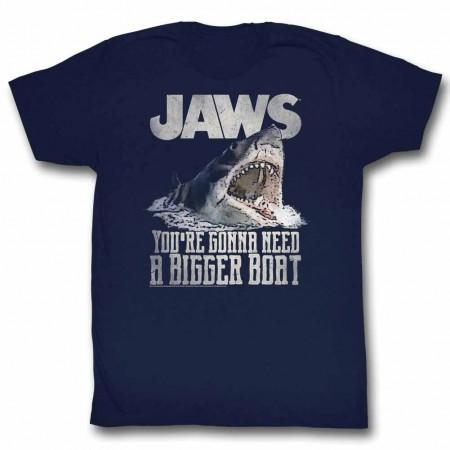 Jaws Real Big Blue TShirt