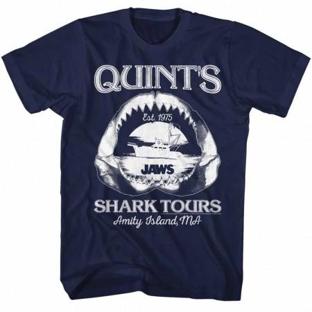 Jaws Shark Tours Blue TShirt