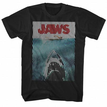 Jaws Wiggly Black TShirt