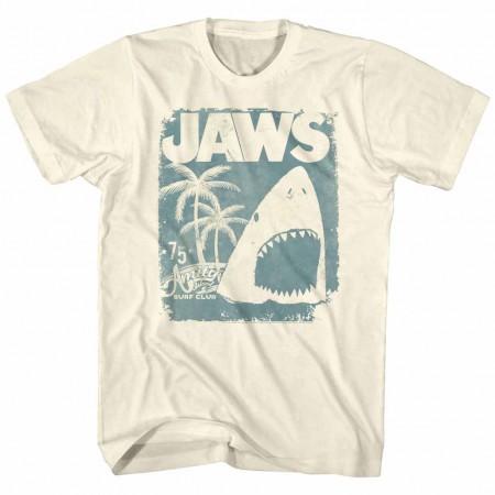 Jaws Surf Club Poster Off White TShirt
