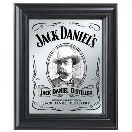 Jack Daniel's Portrait Bar Mirror