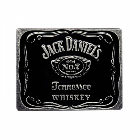 Jack Daniels Classic Black Belt Buckle
