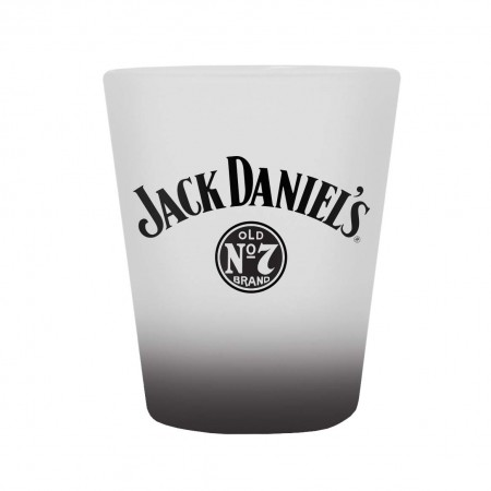 Jack Daniels Frosted No. 7 Shot Glass