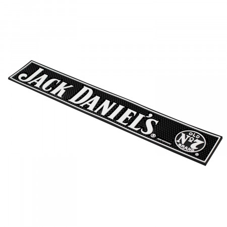 Jack Daniels Black Bar Mat