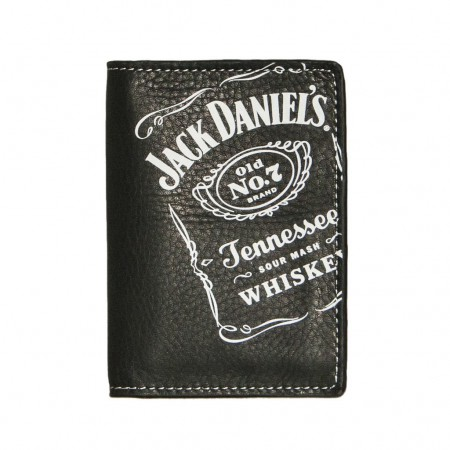 Jack Daniels Old No. 7 Black Label Trifold Wallet