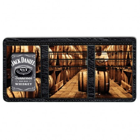 Jack Daniels Old No. 7 Trifold Wallet