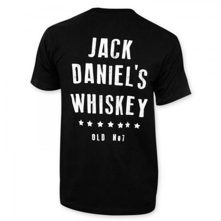 Jack Daniels Men's Black Star Pocket T-Shirt