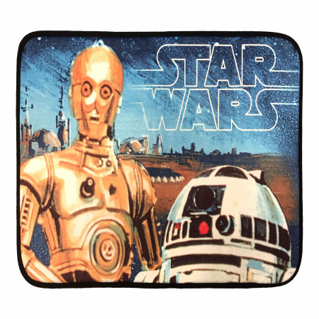 Star Wars C-3PO Foam Bath Mat