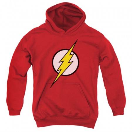 The Flash Classic Logo Youth Hoodie