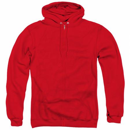 The Flash Men's Red Zip-Up Hoodie