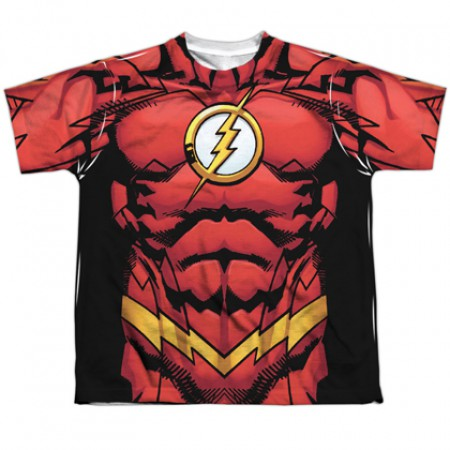 The Flash New 52 Youth Costume Tee